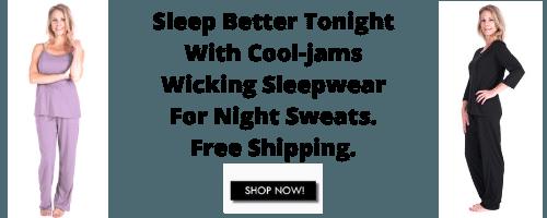 Cool Jams Ladies Dry Sleepware